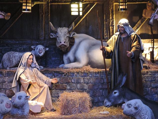 vánoční betlém postavy