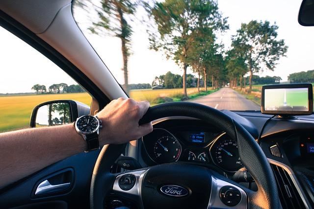 jízda podle navigace