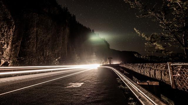 pohyb ve tmě