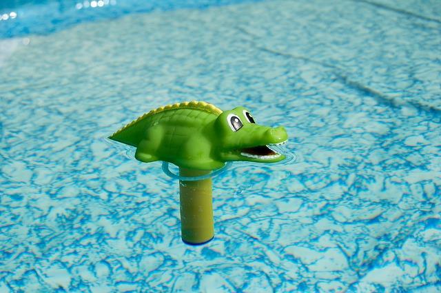 teploměr krokodýl