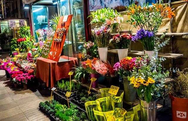 prodej květin