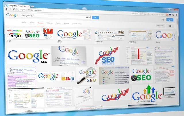 různá loga společnosti Google