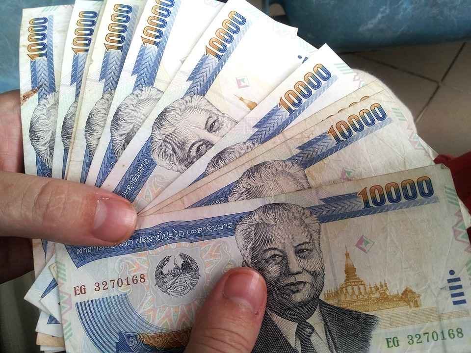thajské peníze
